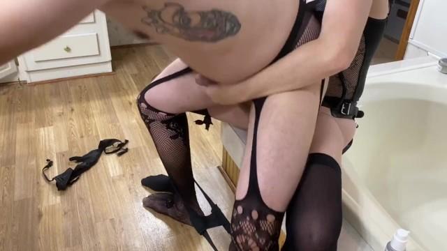 Husband Shares Big Tit Wife